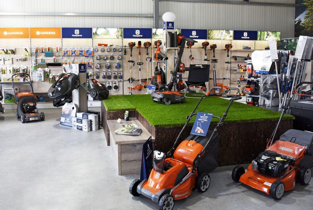 Ausstellung Gartentechnik