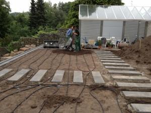 01 Installation Bewaesserung Rainbird Privatgarten