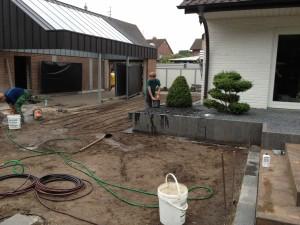 03 Installation Bewaesserung Rainbird Privatgarten